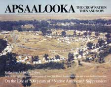 Apsaalooka The Crow Nation Then and Now