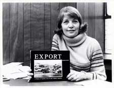 Helene Smith with Export book