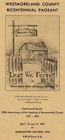 Lest We Forget by Helen Snyder Smith and George Swetnam