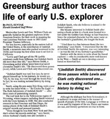 Greensburg author traces life of early U.S. explorer